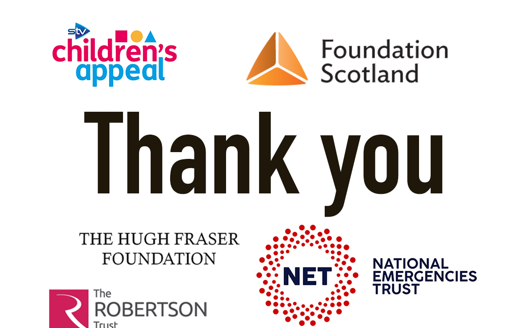 THANKS TO OUR FUNDERS!